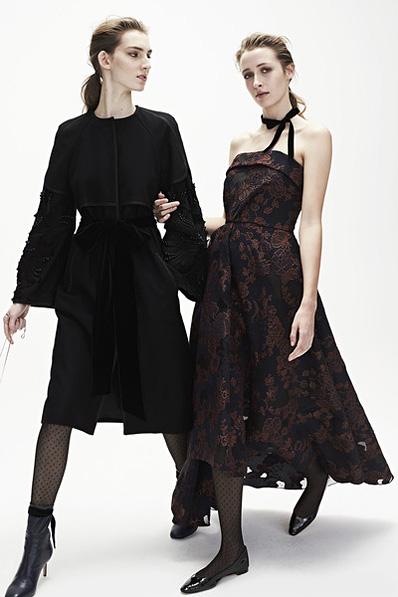 Monique-Lhuillier-fw17-rtw-fall-winter-2017-18-collection (8)-black-velvet-dress