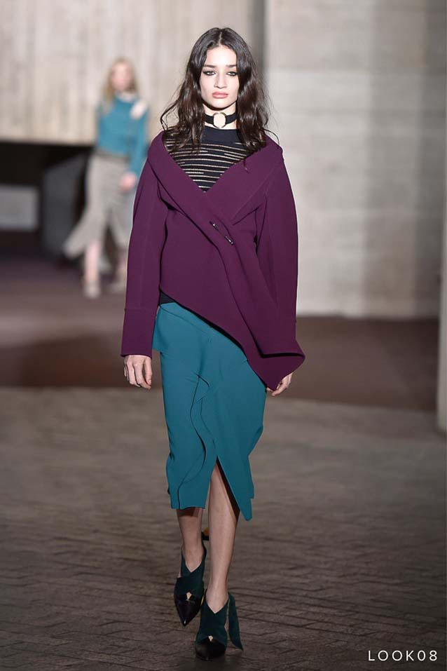 Roland-Mouret-fw17-rtw-fall-winter-2017-18-collection-8-green-skirt-purple-dress