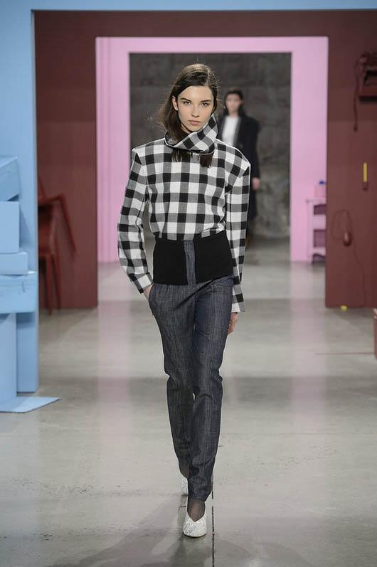 Tibi-fw17-rtw-fall-winter-2017-18-collection (21)-checkered-shirt-pant