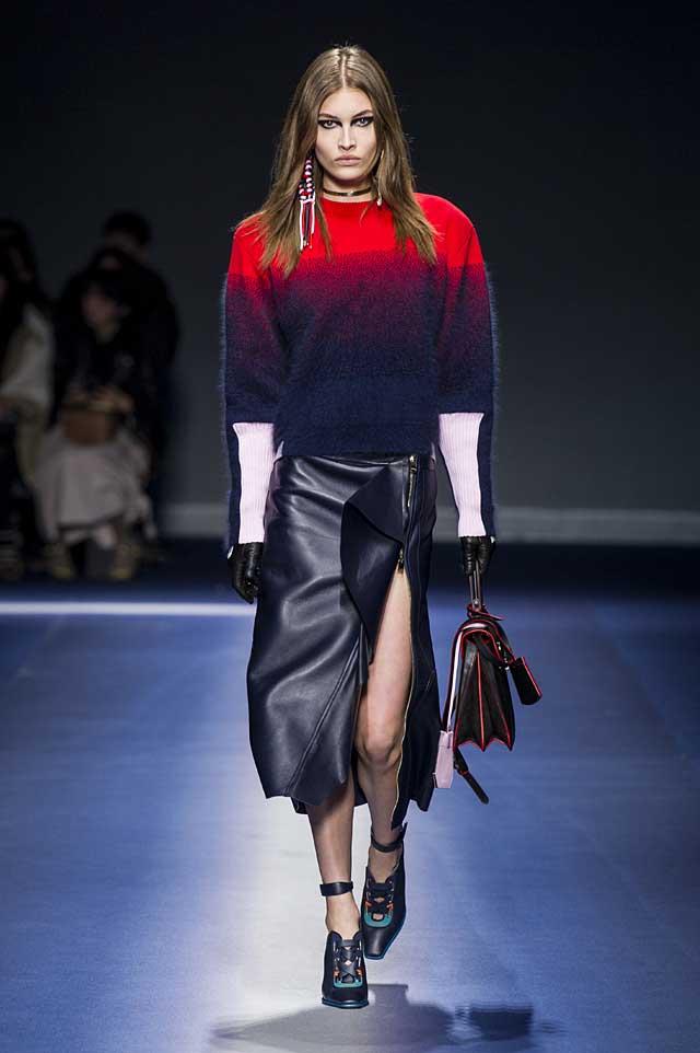 Versace-fw17-rtw-fall-winter-2017-18-collection (23)-sweater-skirt-high-slit