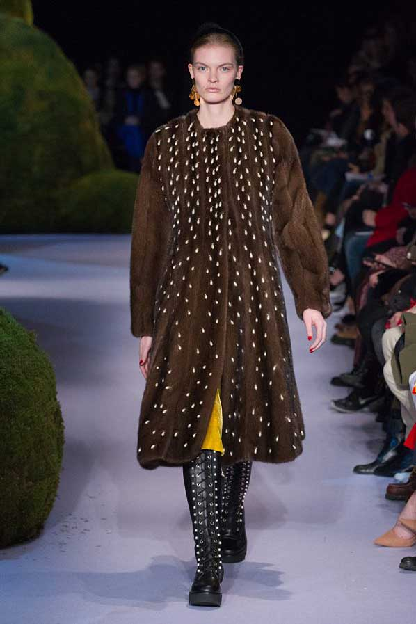 altuzarra-fw17-rtw-fall-winter-2017-18-collection (35)-brown-studded-velvet-jacket