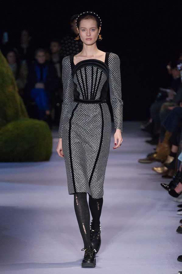 altuzarra-fw17-rtw-fall-winter-2017-18-collection (38)-black-polka-dots-dress