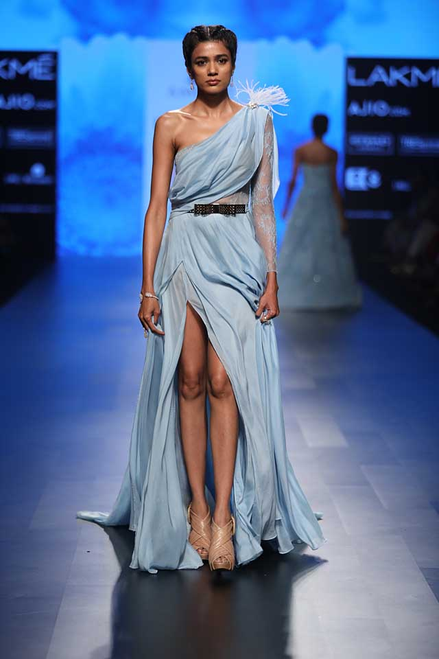 amit-gt-fashion-designer-blue-one-shoulder-gown-slit-dress