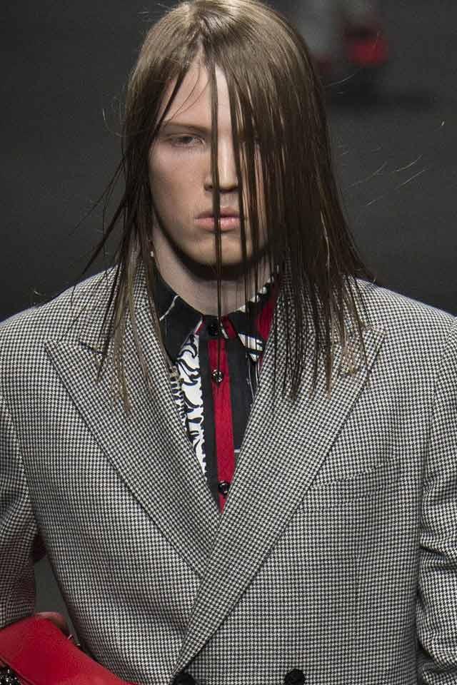 button-placket-menswear-essentials-versace-prints-colors-red-hair