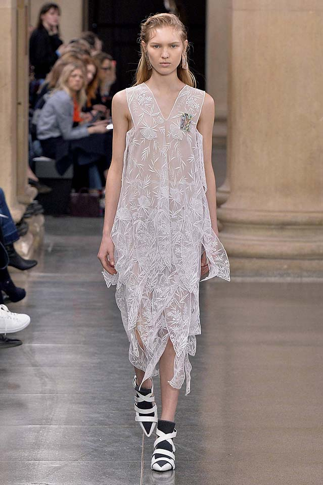 christopher-kane-fw17-rtw-fall-winter-2017-18-collection (7)-sheer-dress
