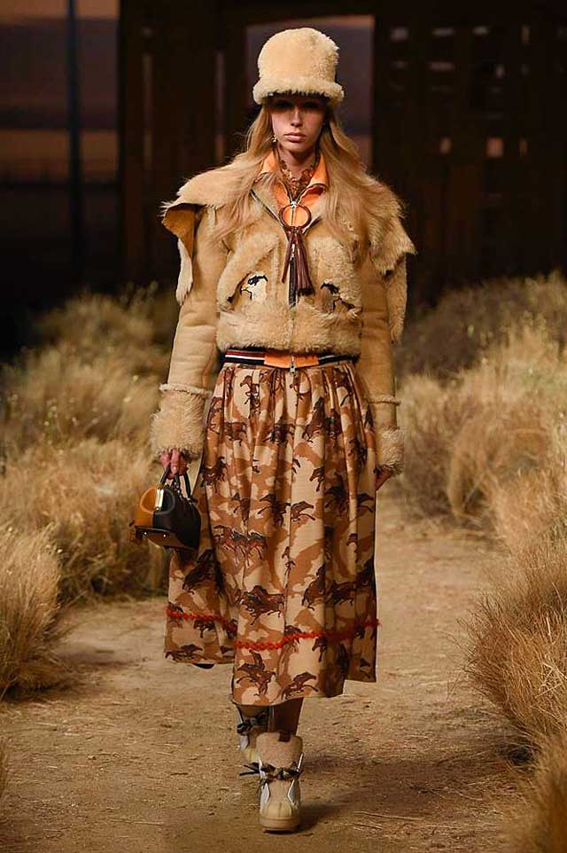 coach-fw17-rtw-fall-winter-2017-outfit-collection (1)-brown-jacket-skirt