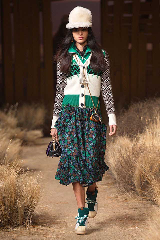 coach-fw17-rtw-fall-winter-2017-outfit-collection (19)-green-off-white-dress