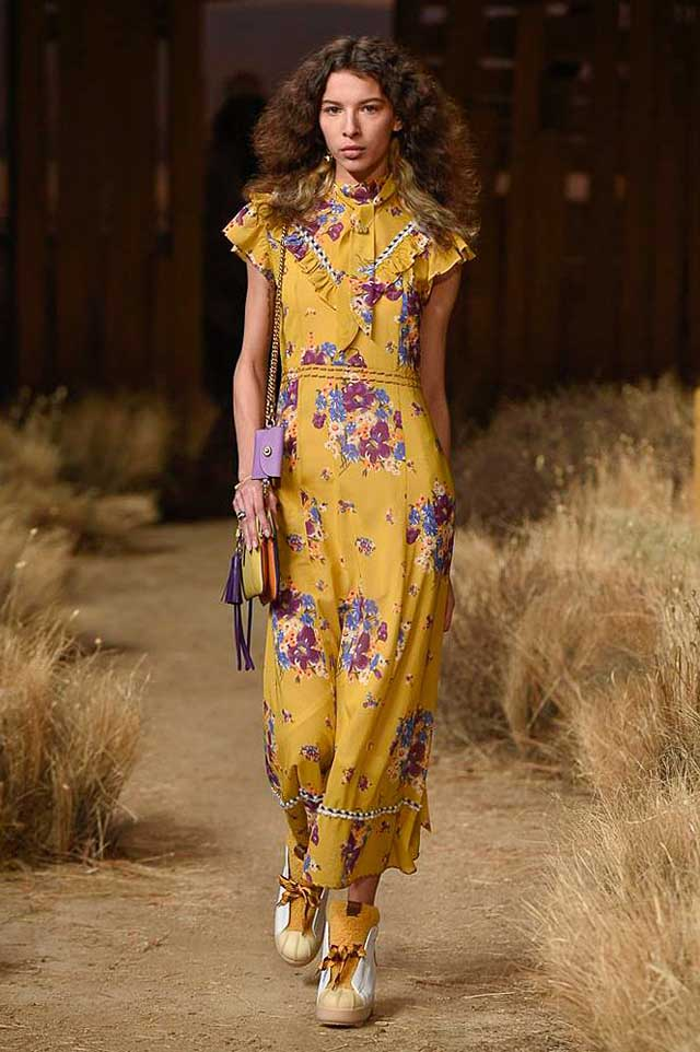 coach-fw17-rtw-fall-winter-2017-outfit-collection (3)-yellow-floral-dress