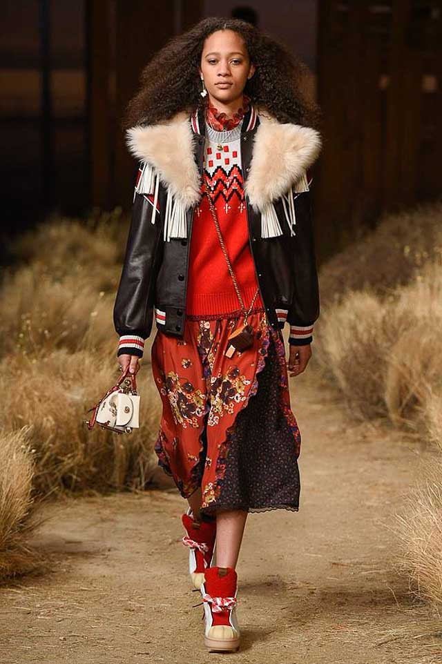 coach-fw17-rtw-fall-winter-2017-outfit-collection (31)-black-leather-jacket