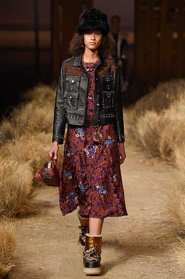 coach-fw17-rtw-fall-winter-2017-outfit-collection (37)-dress-midi-shoes-studded-leather-jacket