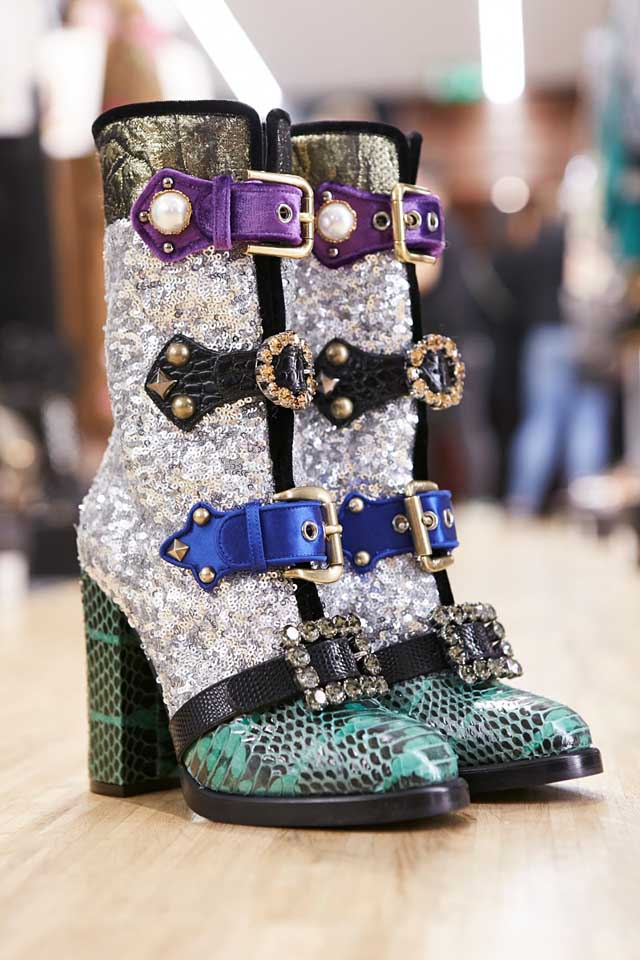 dolce-and-gabbana-fall-winter-2017-18-women-fashion-show-backstage-details (9)-embellished-boots