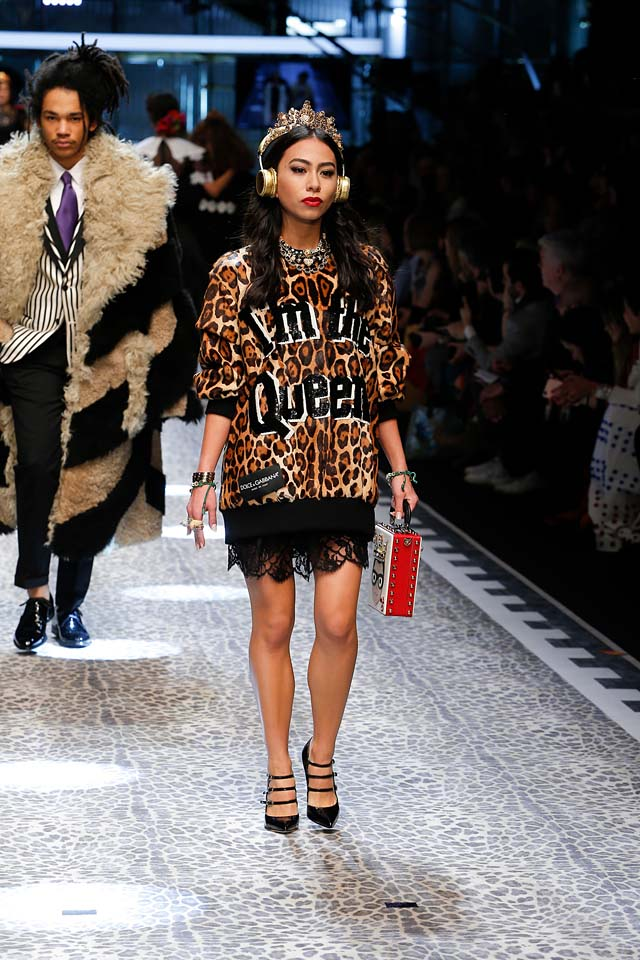 dolce-and-gabbana-fw17-rtw-fall-winter-2017-18-collection (101)-animal-print-jacket-dress