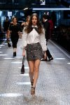 dolce-and-gabbana-fw17-rtw-fall-winter-2017-18-collection (113)-white-top-metallic-skirt