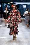 dolce-and-gabbana-fw17-rtw-fall-winter-2017-18-collection (24)-fringed-dress-flower
