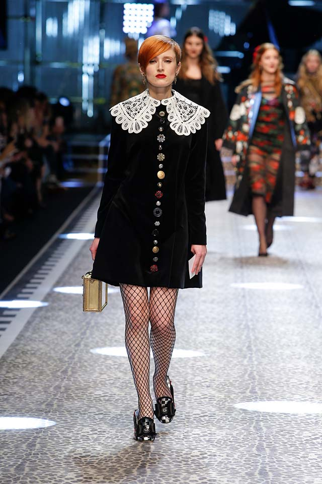 dolce-and-gabbana-fw17-rtw-fall-winter-2017-18-collection (25)-black-dress-lace