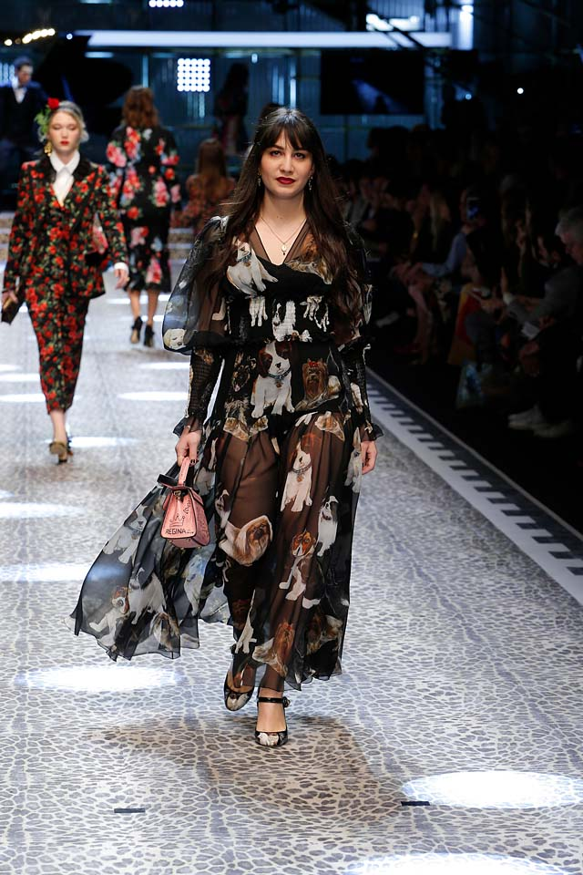 dolce-and-gabbana-fw17-rtw-fall-winter-2017-18-collection (95)-animal-print-sheer-dress