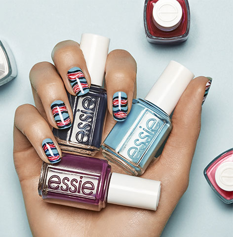 essie-wavy-trends-nail-art-2017-blue-red-nail-paint-latest-designs