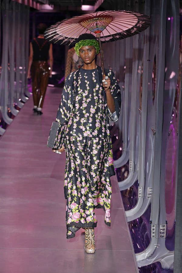 gucci-fw17-rtw-fall-winter-2017-2018-collection (108)-printed-dress-bag