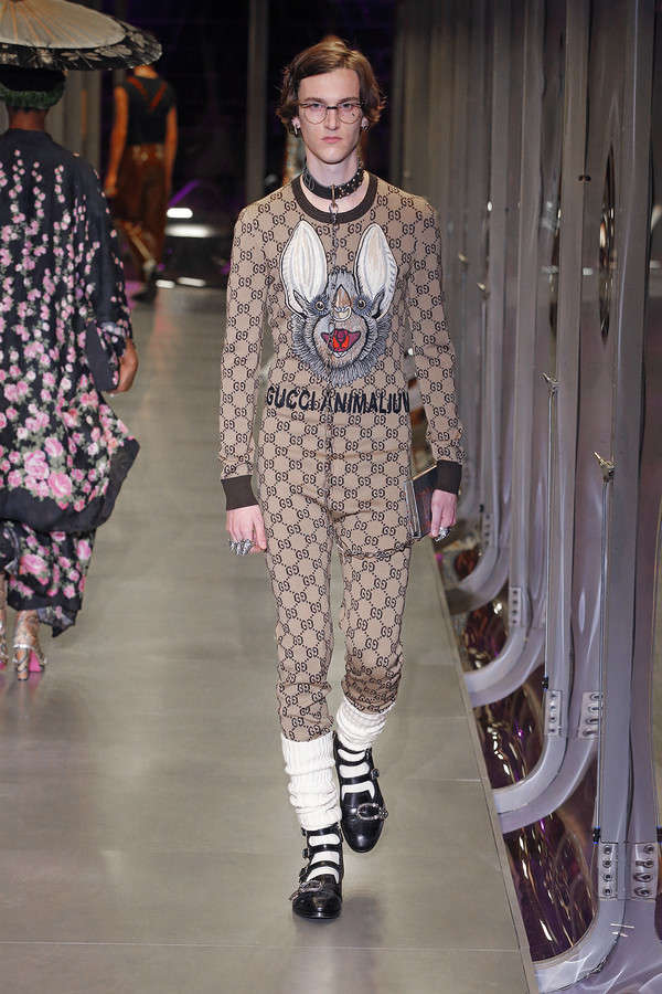 gucci-fw17-rtw-fall-winter-2017-2018-collection (109)-printed-socks