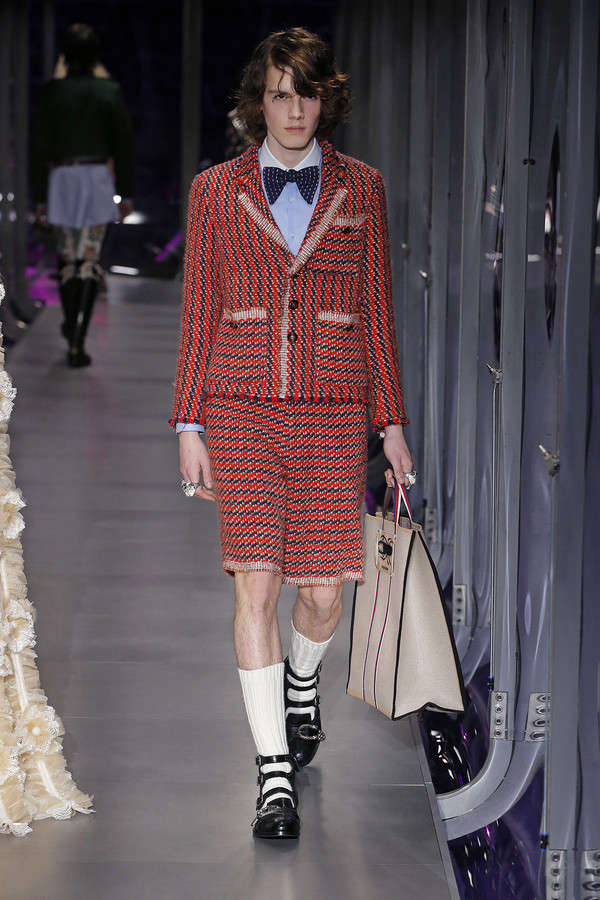 gucci-fw17-rtw-fall-winter-2017-2018-collection (118)-shorts-stripes