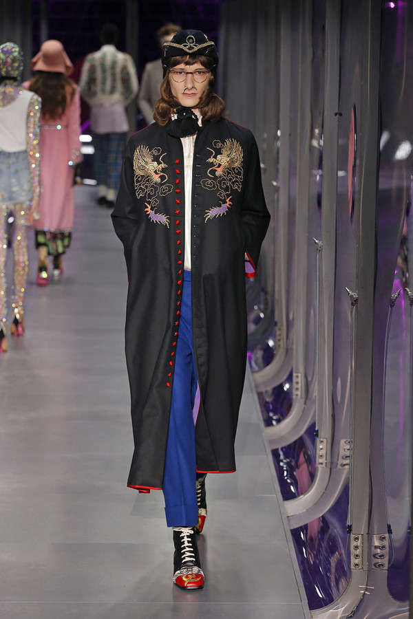 gucci-fw17-rtw-fall-winter-2017-2018-collection (87)-patterned-coat