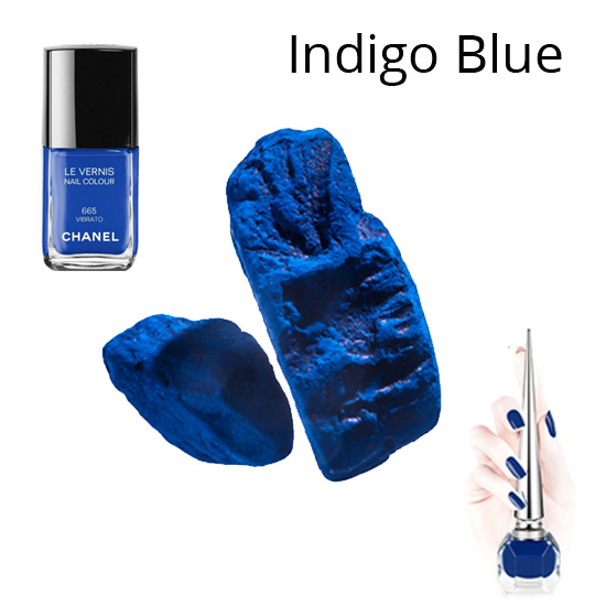 indigo-blue-bright-peppy-latest-nail-trends-spring-summer-2017