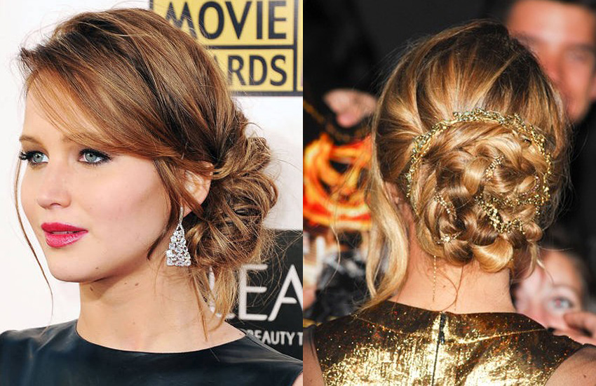 jennifer-lawrence-elegant-party-hairstyles-for-women-celeb-style-cool-hot-styles
