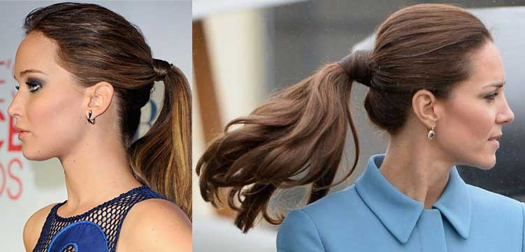 kate-middleton-jennifer-lawrence-ponytails-sleek-perfect-hairstyles-for-parties