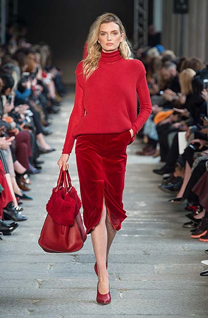 max-mara-fw17-rtw-fall-winter-2017-18-collection (3)-red-skirt