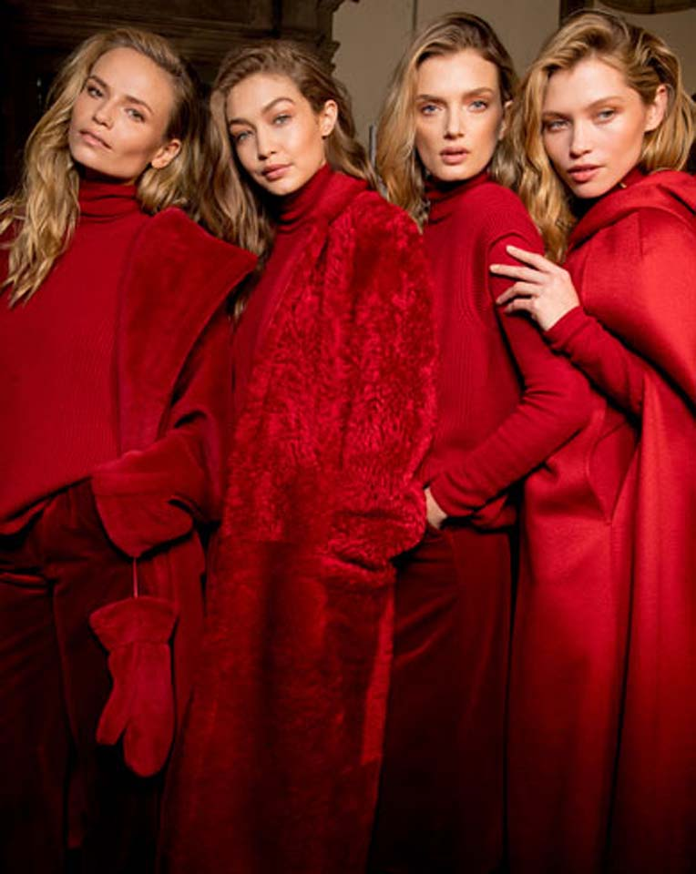 max-mara-fw17-rtw-fall-winter-2017-backstage-beauty-makeup (12)-red-outfits
