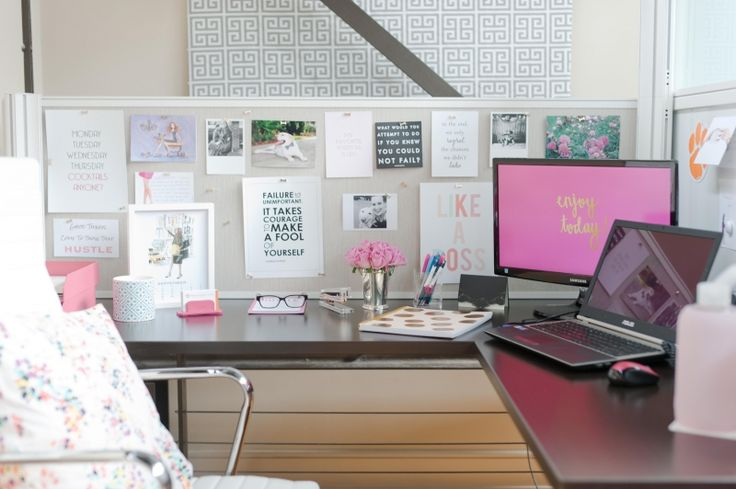 motivational-quotes-at-work-workstation-decor-how-to-decorate-your-work-desk