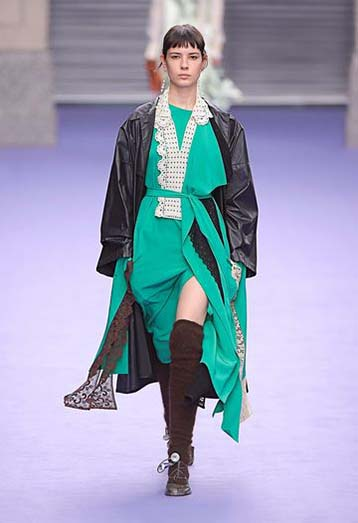 mulberry-fw17-rtw-fall-winter-2017-18-collection-18-green-dress-leather-jacket