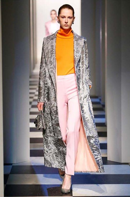 oscar-de-la-renta-fall-winter-2017-fw17-collection-15-animal-print-long-coat-pink-pant-orange