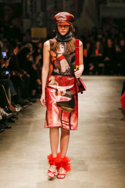 prada-fw17-rtw-fall-winter-2017-18-womenswear-collection (30)-graphic-painting-dress