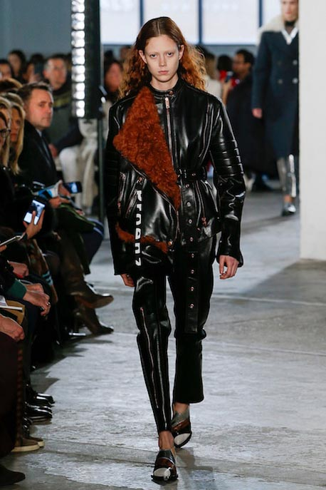 proenza-schouler-fw17-rtw-fall-winter-2017-18-collection (17)-black-leather-jacket