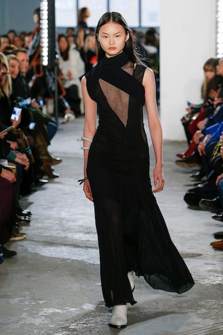 proenza-schouler-fw17-rtw-fall-winter-2017-18-collection (23)-black-sheer-gown