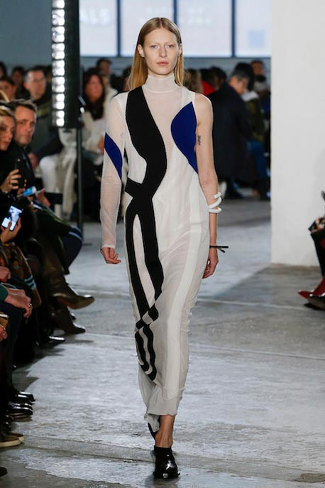 proenza-schouler-fw17-rtw-fall-winter-2017-18-collection (28)-white-sheer-dress