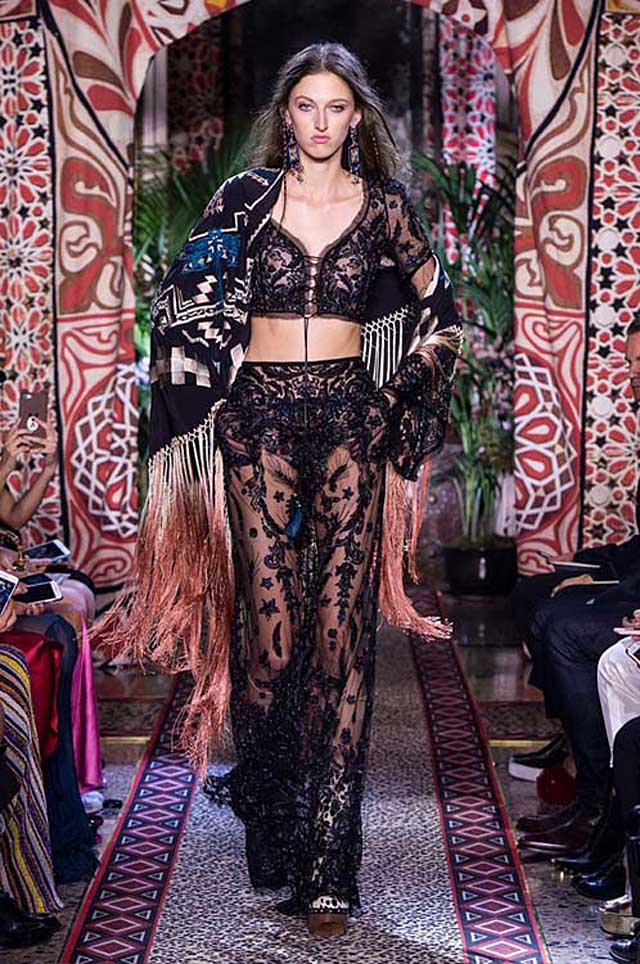 roberto-cavalli-sheer-skirt-black-latest-spring-summer-2017-fashion-trends-ss17-runway