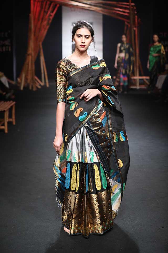 sanjukta-dutta-lfw-sr17-lakme-fashion-week-summer-resort-2017 (2)-silk-saree
