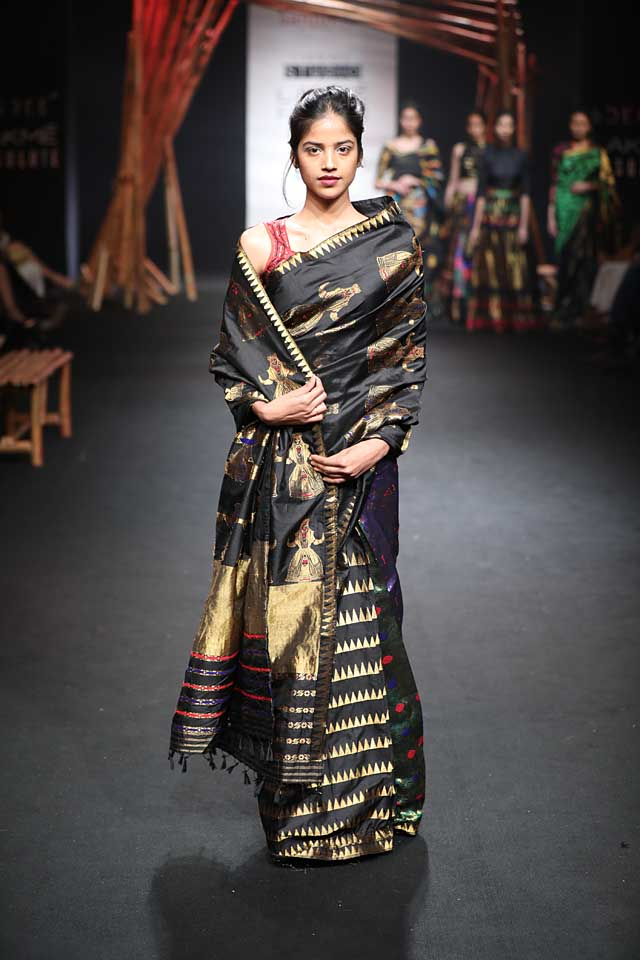sanjukta-dutta-lfw-sr17-lakme-fashion-week-summer-resort-2017 (4)-black-saree-sari