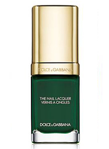 wild-green-dolce-gabbana-tropical-forest-bright-trendy-latest-nail-trends-ss17
