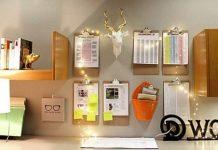 writing-pads-organizers-string-lights-workstation-decor