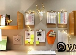 writing-pads-organizers-string-lights-workstation-decor