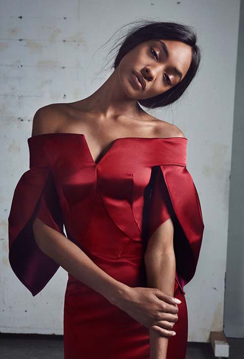 zac-posen-fw17-rtw-fall-winter-2017-18-collection (23)-red-off-the-shoulder-dress