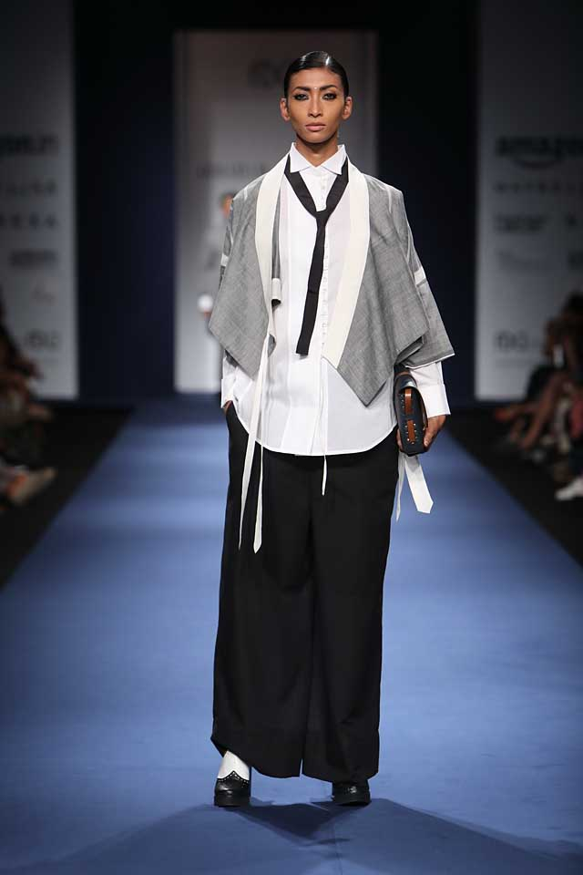 Abraham-Thakore-aifw-2017-fashion-show-designer-indowestern-dresses (1)-suit-pallazos-hairstyles