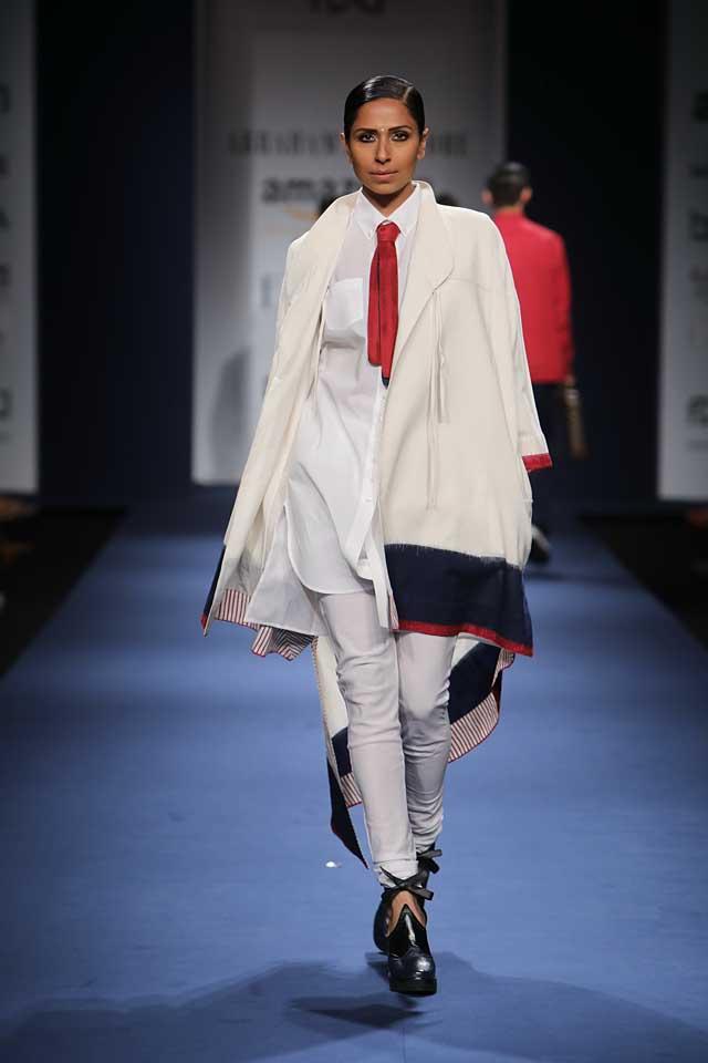 Abraham-Thakore-aifw-2017-fashion-show-designer-indowestern-dresses (7)-kurta-shirt-white