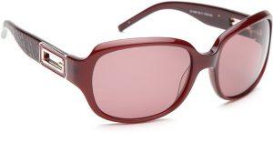 Guess GUESS WOMEN 6585 BU-17 Over-sized Sunglasses(Pink)