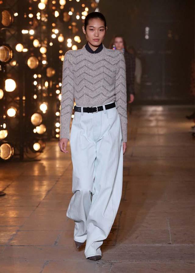 Isabel-Marant-fw17-fall-winter-2017 (30)-full-sleeve-tee-formal-pants
