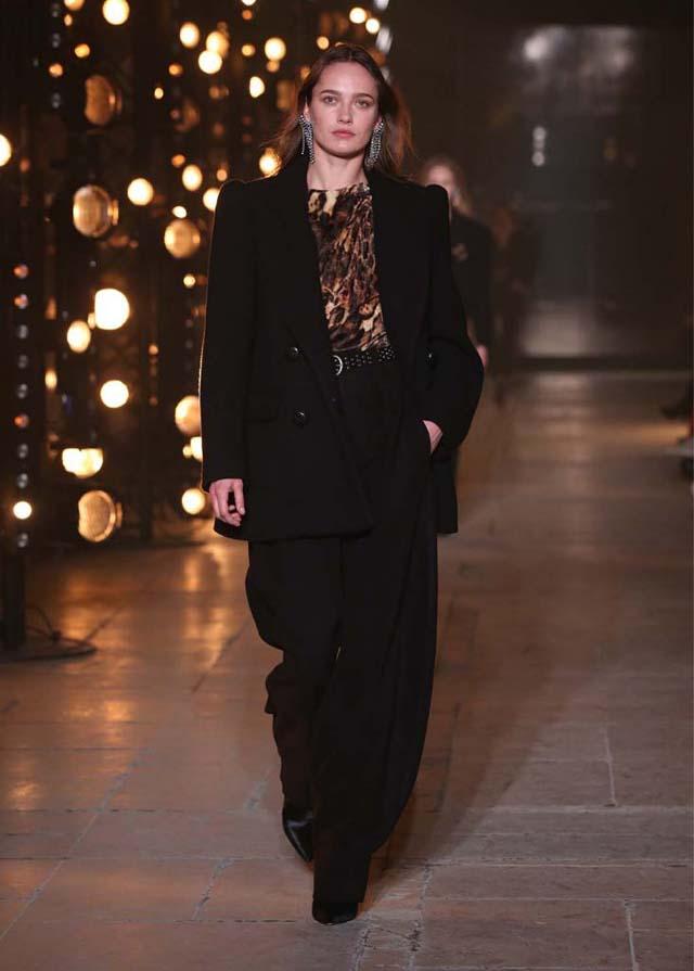 Isabel-Marant-fw17-fall-winter-2017 (39)-black-pants-jacket