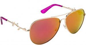 Juicy Couture JU562/S-3YG-WH Aviator Sunglasses(Orange)